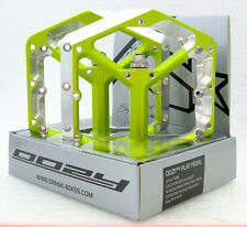 Spank Oozy Trail Flat Pedals Emerald Green Free Shipping Other Color In Stock