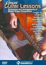 Great Guitar Lessons Techniques and Arrangements of Master S Region 1 DVD