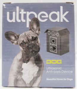 Ultpeak Ultrasonic Anti-Bark Device For Dogs Up to 50 Ft Range -H6