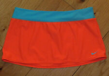 Nike swim cover skirt girls' sz L 12 14 16 neon coral aqua