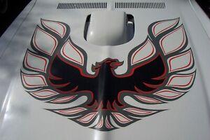 Decal for Pontiac Firebird Trans Am Bird Hood Decal Sticker Vinyl Laptop