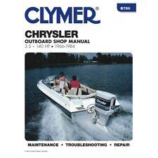 Chrysler Outboard 3.5-140hp 1966-1984 Boat Motor Service & Repair Manual