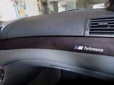 BMW E46 M3 3 SERIES INTERIOR TRIM ALCANTARA FACTURE M\ PERFORMANCE