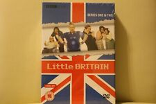Little Britain Series 1 & 2 DVD Box Set NEW & SEALED Royal Mail 1st Class P&P