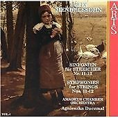 Mendelssohn: String Symphonies, Vol.4, , Very Good CD