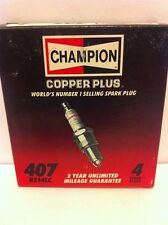 Champion RS14LC box of 4 Spark Plugs Stock No. 407 New Old Stock