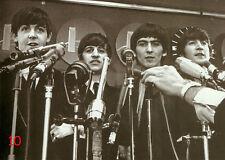 Beatles Postkarte No. 10 - b/w - Bester Zustand