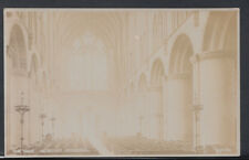 Herefordshire Postcard - The Nave, Hereford Cathedral    RS8688