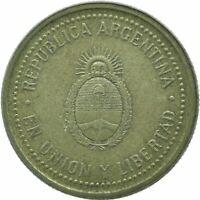 COIN / ARGENTINA / 10 CENTAVOS 1993     #WT17669