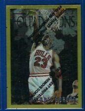 Michael Jordan 1996-97 Topps Finest #291 Rare Gold NBA Chicago Bulls HOF NICE!