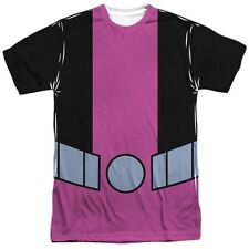 Dc Comics Teen Titans Go Beast Boy Costume Outfit Uniform Allover Front T-shirt