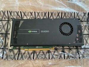 NVIDIA QUADRO 4000 GF100 256 BIT BUS WIDTH GDDR5 2 GB DVI/ 2 X DISPLAY PORT