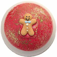 Bomb Cosmetics Bath Blaster - You can't catch me Gingerbread man