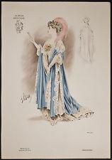 Goubaud - Fashionably Dressed Woman. 1167 - 1904 Le Mode Artistique FOLIO