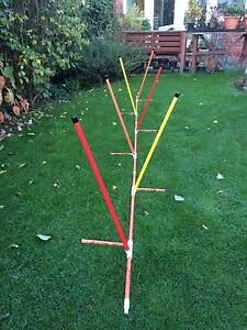 6 Pole Adjustable Weave By Jessejump Agility
