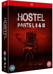 Hostel Trilogy: Parts I, II & III (Blu-Ray)