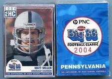 2004 Penn PA Big 33 FACTORY SEALED Set HIGH SCHOOL Cards Darrelle Revis, Henne +