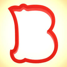 Curly Letter B Cookie Cutter 4 in PC0131 - By CookieCutter.Com - USA Made