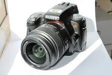 Sony Alpha SLT-A33 14.2MP Digital SLR Camera - Black (Kit w/ 18-55mm Lens)