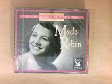 RARE COFFRET 3 CD / MADO ROBIN / READER'S DIGEST / NEUF CELLO