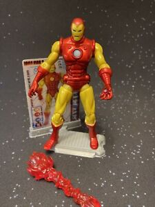Classic Iron Man  - Iron Man 2 Action Figure - Hasbro 3.75 Inch - Complete