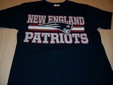 NFL TEAM APPAREL NEW ENGLAND PATRIOTS BLUE T-SHIRT MENS MEDIUM EXCELLENT