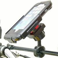 TiGRA BikeCONSOLE Étanche Étui Rigide & Vélo Transversale Support Pour Iphone 8+