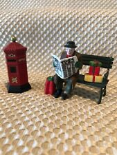 *Christmas* Department 56 English Post Box And Rest Ye Merry Gentleman