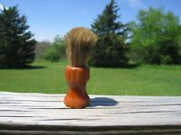 """""""Ever-Ready Set in Rubber Sterilized 748C"""" Rust Colored Handle Shaving Brush"""