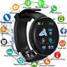 Smart Watch Blood Oxygen Fitness Tracker Heart Rate Monitor IP65 For Android iOS