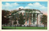 Postcard Governor's Mansion Jackson Mississippi