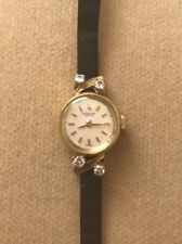 International Watch Co Vintage lady's Watch Gold With Diamonds