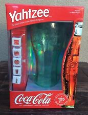 COCA COLA COKE SODA 125TH ANNIVERSARY YAHTZEE GAME