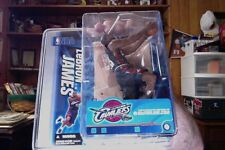McFarlane LeBron James Blue Series 10. Cleveland Cavaliers Nba