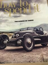 Financial Times How To Spend It, The Power Of Three, November 5, 2016, NEW