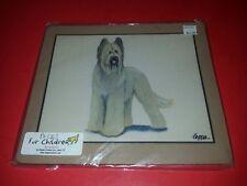 Fur Children Zeppa Studios Briard Dog Mouse Pad NEW