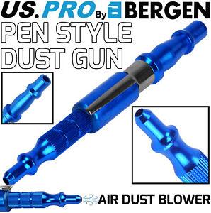 BERGEN Air Dust Blow Gun Pen Style Duster Nozzle PCL Male Fitting For Air Line