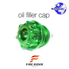 Green CNC Oil Filler Cap 1pc For Kawasaki Z1000 03-09 04 05 06 07 08