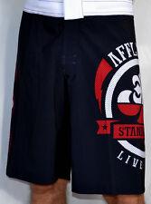 Affliction - SHELTER - Men's Boardshorts Swim Trunks Shorts - NEW - Black