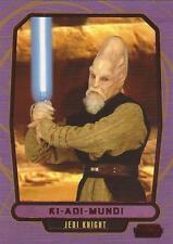 """Star Wars Galactic Files 2- #427 Red Parallel Card """"Ki-Adi-Mundi"""" #11/35"""