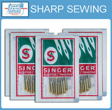 50 EACH SINGER 2045 GOLD TIP HOME SEWING MACHINE NEEDLES   SIZE#11