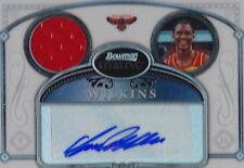 2006-07 Bowman Sterling DOMINIQUE WILKINS Auto Jersey Refractor #d 199