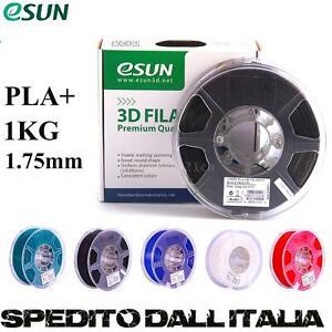 1KG 1.75MM PLA / TPU / PETG FILAMENTO BIANCO/NERO/ROSSO/GIALLO PER STAMPANTE 3D