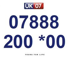 07888 200 *00 Numbers - Gold Easy Memorable Business Platinum VIP Mobile Numbers