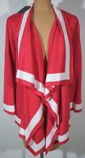 NWT ST. JOHN Knits Light Weight Santana Knit Raspberry Cardigan Jacket sz S $825