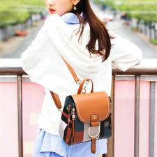 Women Girls Mini Backpack Leather Rucksack School Shoulder Bag Travel Handbag US
