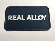 Real Alloy Aluminum Recycling Recycle Magnesium Scrap Company Logo Patch B
