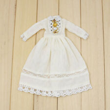 "Takara 12"" Blythe Doll Sweet Outfits-The Long White Summer veil  Dress"