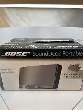 Bose SoundDock Portable Digital Music System N123 Docking Station W/ Box Tested