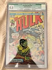 OCT 1974 Marvel Incredible Hulk #180 CGC 4.0 1st appearance Wolverine No Stamp